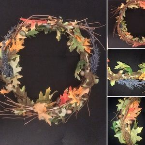 New Arrival !! Real twig Autumn Vintage Wreath